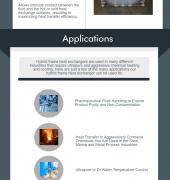 Hybrid Frame Heat Exchangers